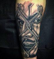 фото тату в стиле чикано от 08.04.2018 №112 — Chicano style tattoo — tattoo-photo.ru