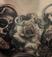 фото тату в стиле чикано от 08.04.2018 №115 — Chicano style tattoo — tattoo-photo.ru