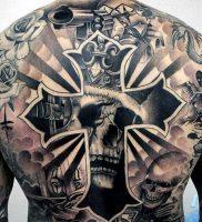 фото тату в стиле чикано от 08.04.2018 №118 — Chicano style tattoo — tattoo-photo.ru