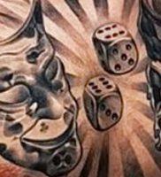 фото тату в стиле чикано от 08.04.2018 №119 — Chicano style tattoo — tattoo-photo.ru