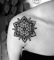 фото тату геометрия от 11.04.2018 №110 — tattoo geometry — tattoo-photo.ru
