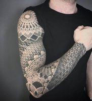 фото тату геометрия от 11.04.2018 №117 — tattoo geometry — tattoo-photo.ru