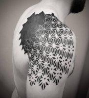 фото тату геометрия от 11.04.2018 №118 — tattoo geometry — tattoo-photo.ru