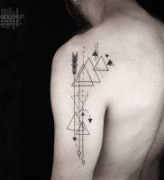 фото тату геометрия от 11.04.2018 №129 — tattoo geometry — tattoo-photo.ru