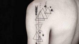 фото тату геометрия от 11.04.2018 №129 - tattoo geometry - tattoo-photo.ru