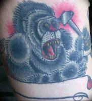фото тату горилла от 27.03.2018 №118 — gorilla tattoo — tattoo-photo.ru