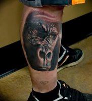 фото тату горилла от 27.03.2018 №121 — gorilla tattoo — tattoo-photo.ru
