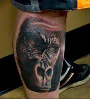 фото тату горилла от 27.03.2018 №122 — gorilla tattoo — tattoo-photo.ru