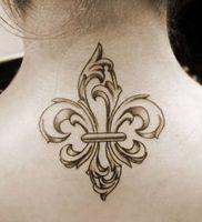 фото тату королевская лилия от 08.04.2018 №003 — tattoo royal lily — tattoo-photo.ru