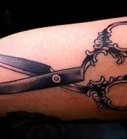 фото тату ножницы от 27.03.2018 №084 — tattoo scissors — tattoo-photo.ru