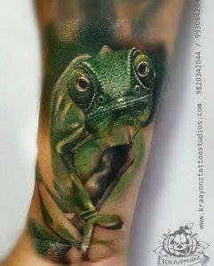 фото тату ящерица от 11.04.2018 №120 - tattoo lizard - tattoo-photo.ru