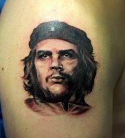 фото тату Че Гевара от 27.04.2018 №001 — tattoo Che Guevara — tattoo-photo.ru