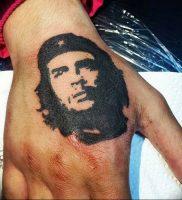фото тату Че Гевара от 27.04.2018 №004 — tattoo Che Guevara — tattoo-photo.ru