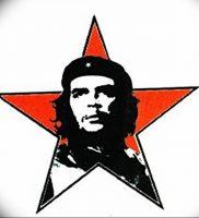 фото тату Че Гевара от 27.04.2018 №006 — tattoo Che Guevara — tattoo-photo.ru