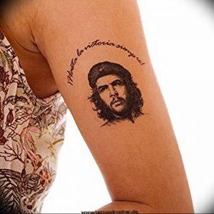 фото тату Че Гевара от 27.04.2018 №007 - tattoo Che Guevara - tattoo-photo.ru