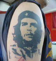 фото тату Че Гевара от 27.04.2018 №009 — tattoo Che Guevara — tattoo-photo.ru