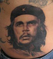 фото тату Че Гевара от 27.04.2018 №011 — tattoo Che Guevara — tattoo-photo.ru