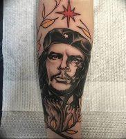 фото тату Че Гевара от 27.04.2018 №012 — tattoo Che Guevara — tattoo-photo.ru