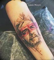 фото тату Че Гевара от 27.04.2018 №013 — tattoo Che Guevara — tattoo-photo.ru