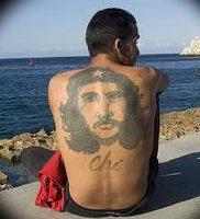 фото тату Че Гевара от 27.04.2018 №019 — tattoo Che Guevara — tattoo-photo.ru