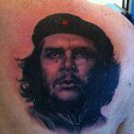 фото тату Че Гевара от 27.04.2018 №026 - tattoo Che Guevara - tattoo-photo.ru
