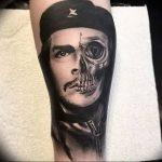 фото тату Че Гевара от 27.04.2018 №074 - tattoo Che Guevara - tattoo-photo.ru