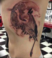 фото тату аист от 18.04.2018 №004 — tattoo stork — tatufoto.com