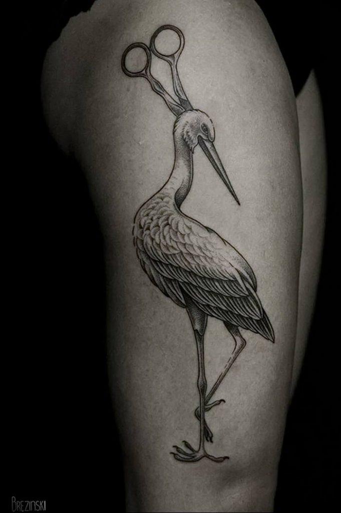 это фото татуировок с аистом полно технических ноу-хау
