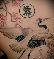 фото тату аист от 18.04.2018 №115 — tattoo stork — tatufoto.com