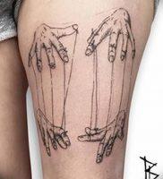фото тату марионетка с нитками от 26.04.2018 №001 — tattoo puppet with — tattoo-photo.ru