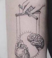 фото тату марионетка с нитками от 26.04.2018 №007 — tattoo puppet with — tattoo-photo.ru