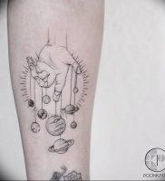 фото тату марионетка с нитками от 26.04.2018 №008 — tattoo puppet with — tattoo-photo.ru