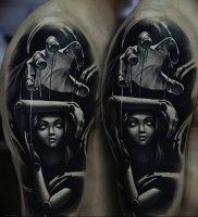 фото тату марионетка с нитками от 26.04.2018 №015 — tattoo puppet with — tattoo-photo.ru