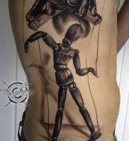 фото тату марионетка с нитками от 26.04.2018 №016 — tattoo puppet with — tattoo-photo.ru