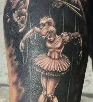 фото тату марионетка с нитками от 26.04.2018 №019 — tattoo puppet with — tattoo-photo.ru