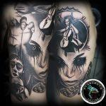 фото тату марионетка с нитками от 26.04.2018 №024 - tattoo puppet with - tattoo-photo.ru