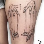 фото тату марионетка с нитками от 26.04.2018 №030 - tattoo puppet with - tattoo-photo.ru