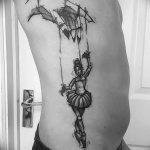 фото тату марионетка с нитками от 26.04.2018 №035 - tattoo puppet with - tattoo-photo.ru