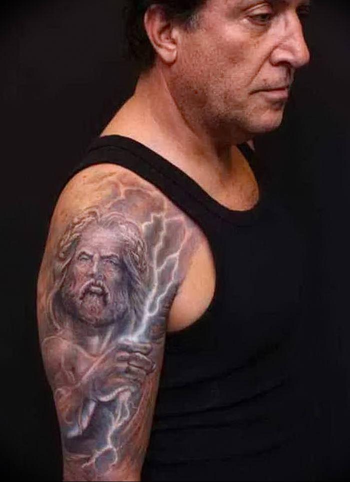 фото тату молния от 26.04.2018 №006 - lightning tattoo - tattoo-photo.ru