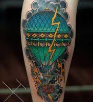 фото тату молния от 26.04.2018 №018 — lightning tattoo — tattoo-photo.ru