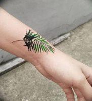 фото тату папоротник от 27.04.2018 №095 — tattoo fern — tattoo-photo.ru