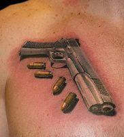фото тату пуля от 06.04.2018 №018 — bullet tattoo — tattoo-photo.ru