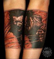 фото тату росомаха от 27.04.2018 №010 — Wolverine tattoo — tattoo-photo.ru