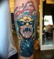 фото тату росомаха от 27.04.2018 №017 — Wolverine tattoo — tattoo-photo.ru