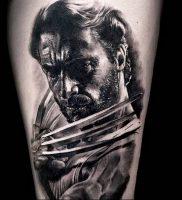 фото тату росомаха от 27.04.2018 №020 — Wolverine tattoo — tattoo-photo.ru
