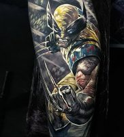 фото тату росомаха от 27.04.2018 №021 — Wolverine tattoo — tattoo-photo.ru