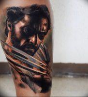 фото тату росомаха от 27.04.2018 №023 — Wolverine tattoo — tattoo-photo.ru