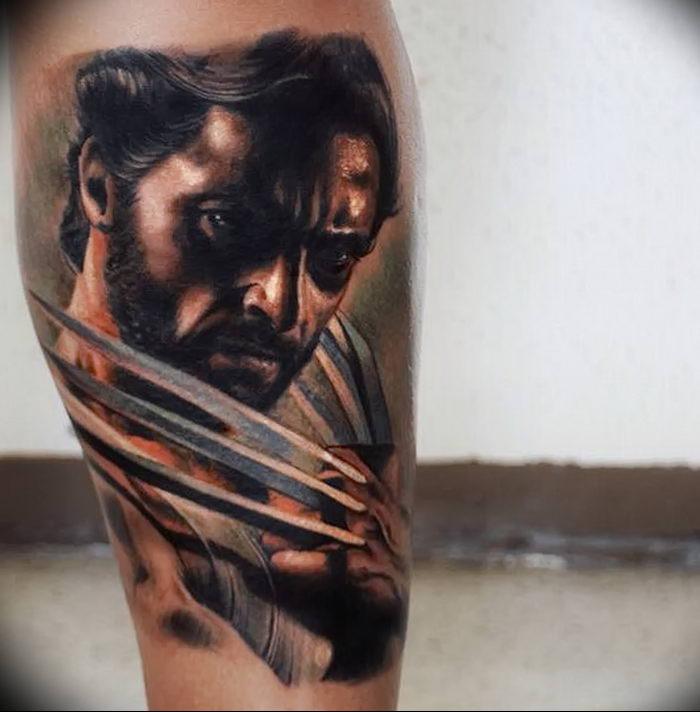 фото тату росомаха от 27.04.2018 №023 - Wolverine tattoo - tattoo-photo.ru