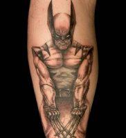 фото тату росомаха от 27.04.2018 №024 — Wolverine tattoo — tattoo-photo.ru