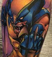 фото тату росомаха от 27.04.2018 №026 — Wolverine tattoo — tattoo-photo.ru